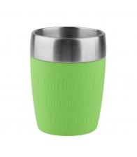 Termos Tefal Travel Mug K3084114, Capacitate 0.36 l, Capac 360 Quick Press, Rosu