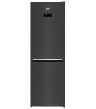 Combina frigorifica Beko RCNA366E40ZXBRN, Clasa E, Capacitate 324 l, NeoFrost, Kitchen Fit, Everfresh+, H 185.2 cm, Dark Inox