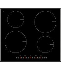 Plita incorporabila cu inductie Arielli ACH-704IND, Electric, 4 zone de caldura, Control touch, Negru
