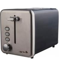 Prajitor de paine Arielli AET-1710RS, Putere 850 W, Capacitate 2 felii, 7 nivele de rumenire, Inox