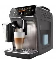 Espressor automat Philips EP5444/90, 1500 W, 1.8l, 12 bauturi, LatteGo, AquaClean, Rasnita ceramica, Functie MEMO, Gri