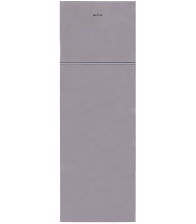 Frigider cu doua usi Arctic AD60310M30MT, Clasa F, Capacitate 306 l, Fast freeze zone, Garden fresh, H 175 cm, Argintiu