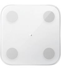 Cantar inteligent Xiaomi Mi Body Composition Scale 2, 150 Kg, Bluetooth, Afisare greutate, Masa musculara, Nivel de grasime, Alb