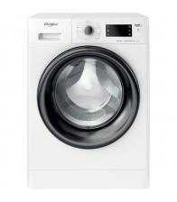 Masina de spalat rufe slim Whirlpool FWSG61282BVEEN, Clasa E, Capacitate 6 Kg, 1200 rpm, 6th Sense, FreshCare+, Steam, Alb