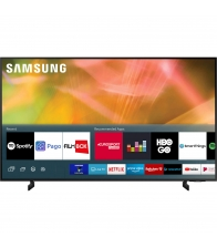 Televizor Samsung 43AU8072, Smart, LED, Clasa G, Diagonala 108 cm, Ultra HD 4K, Crystal 4K,  HDR 10+, Negru