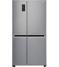 Side by Side LG GSB760PZXV, Clasa F, Capacitate 642, No Frost, Smart Diagnosis, Compresor Linear Inveter, H 179 cm, Argintiu
