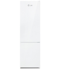 Combina frigorifica LDK Boreal DDW300IHLF, Clasa F, Capacitate 288 l, Termostat ajustabil, H 180 cm, Alb