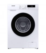 Masina de spalat rufe Samsung WW80T304MBW/LE, Slim, Clasa D, Capacitate 8 Kg, 1400 rpm, Drum Clean, Motor Digital Inverter, Alb