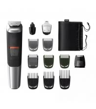 Aparat de tuns barba si parul 12 in 1 Philips Multigroom MG5740/15 1.2 - 16 mm, Acumulator, Autonomie 80 minute, Negru