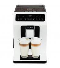 Espressor automat Krups Evidence EA890110, Putere 1450 W, Capacitate 2.3 l, Rasnita, 15 bar, Alb