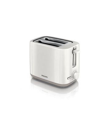 Toaster PHILIPS HD 2595, 800 W, 2 felii, Alb