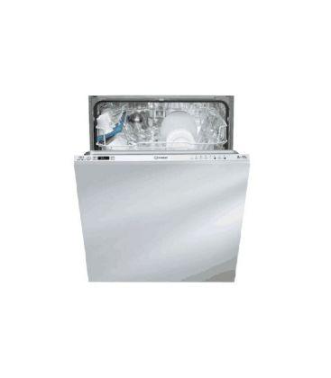 Masina de spalat vase incorporabila INDESIT DIFP 18 B1 A, 13 seturi, 8 programe, Clasa A+, Alb