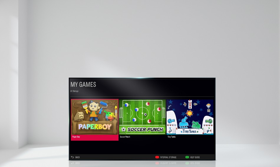 Built-in Game TV