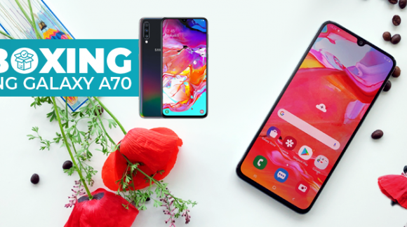 Unboxing Samsung Galaxy A70
